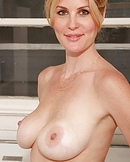 Mature woman nudity